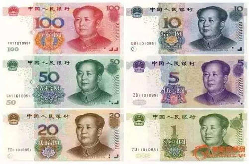 中国の現金の種類